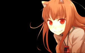 Spice and Wolf wallpaper by lightningcloud