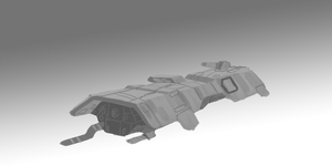 frigate concept WIP by xRob-Machinesx