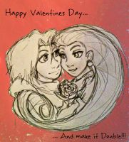 Double Trouble Valentine by ArtisteFish