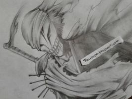 Dibujo de Ichigo Hollow by ToxicoSM
