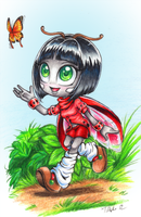 AT: Patty the Ladybug by MetalPandora