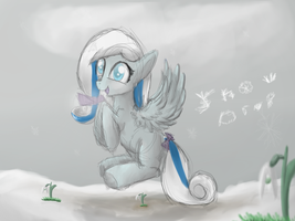 Snow Drop. Spring is coming. by HorrorTime
