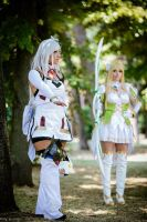 Elsword - Eve and Rena by TsubameRain