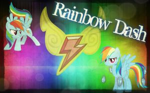 Rainbow Dash Element Background by Angelicsweetheart