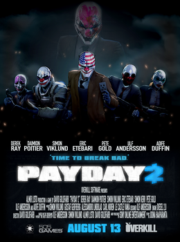[SFM] What if PAYDAY 2 was a movie by Legoformer1000
