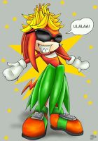 OMG XD Knuckles by SV-Spinny