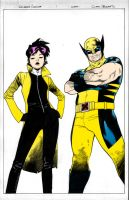 Wolverine and Jubilee by Pandora-Fables