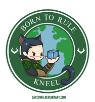 Loki - Born to Rule by caycowa