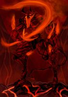 Flame Giant Surtr by moeroknight