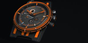 V-III Automatic Wristwatch by wiirus