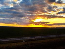 Sunset in France by VadRoli