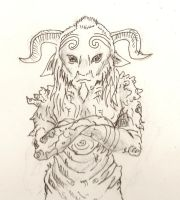 I am the faun... by WulfFather