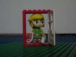 Link in the imaginary house by zeldalilly