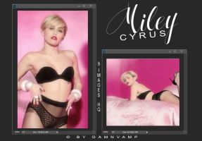 Miley Cyrus | Photopack by damnVamp