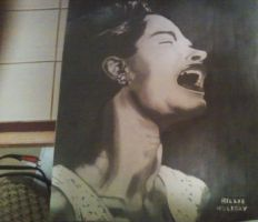 billie holiday by beastwithapencil