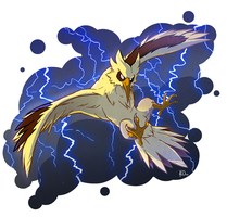 Favorite Electric Type: Zapdos by KatieOsika