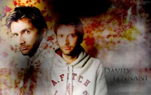 David Tennant WP by BloodyDeath11