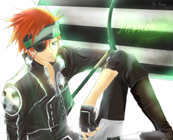 D. Gray Man: Lavi by kuroi-onee