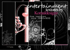 entertainment textures pack by Komaldesignz by neelohoney