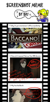 Baccano Meme, my sister's lol by escape-emotion