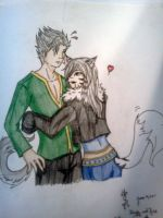 Hiruky and Kisa love by Lolita-Ragdoll