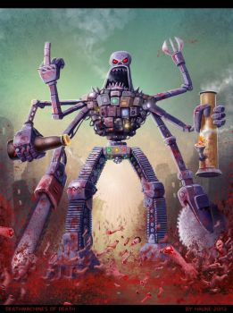 deathmachines of death by Vaghauk