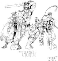 The Crusaders by silentsketcher