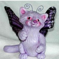 Twinkle, a Flitter Kitty by clay-dreams
