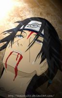 Itachi - Death of a genius by meschultz