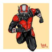 Ant-Man by eveneechan