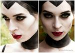 Maleficent makeup by HelenQuila