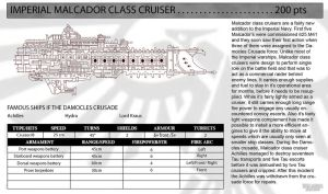 Malcador Class Cruiser by TKWx