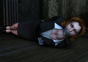 Dana Scully captured by hookywooky