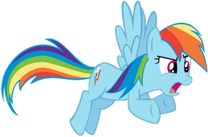 Rainbow Dash - Y U NO by xRainbowSugar