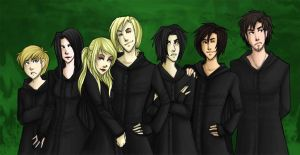 +HP: Young Death Eaters+ by kaalashnikov