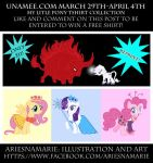 My Little Pony Tshirt Collection Sale by AriesNamarie