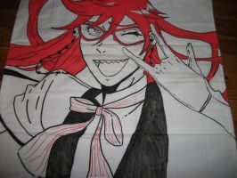 Grelle Sutcliff Pillow Case by weisewoelfin