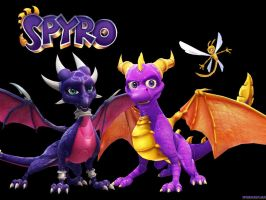 spyro and cynder new by spyrodudelolalbum