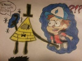 Gravity Falls Bill And Dipper-Odd Deals by AskTheTrueManitoba
