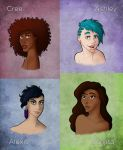 New ladies of 2012 by JourneyOfBell