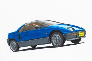 Mazda Autozam AZ-1 Drawing by Anths95