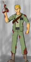Tank Dempsey, Your Worst Nightmare by MegaArtist923