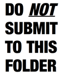 Do not submit to this folder by dbzfangirl98