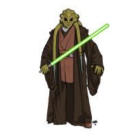 Kit Fisto ROTS by Kaal-Jhyy