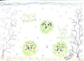 Happy Marimo by Kittychan2005