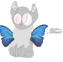 Butterfly, My Fursona by Goldheartleafeon