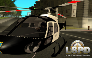 Police helicopter by mGreenie