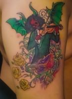 Paganini of Abyss Odyssey  Tattoo by Vatch