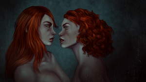 Two Souls by KristinaWaldt