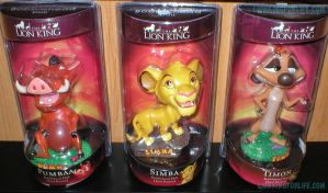 Lion King Imax Bobbleheads by LionKingForLife